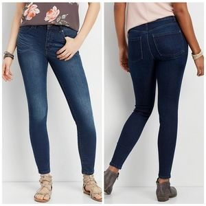 Maurices Denim Flex Mid Rise Jegging Small NWT